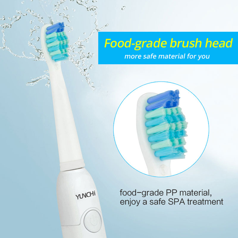 Sonic Electric Toothbrush USB Rechargeable 5 Working Modes Two 2 Minutes Timer Gum Care Teeth Brush Whitening Fully Waterproof