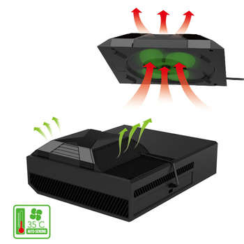 Cooler for xbox one Game console Automatic Sensing Cooling Fan Game Host Temperature Control Fan Game Accessories for xBox One 1