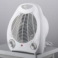 220V 2000W Portable Handy Adjustable Electric Space Heater Fan Heater Office Student Home Desk 3 Heating Setting Winter Warmer