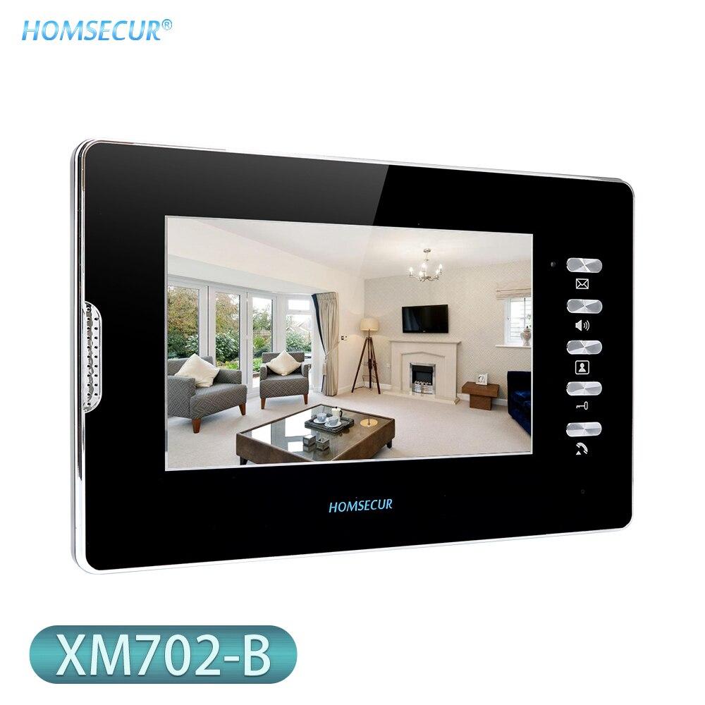 HOMSECUR 7inch Indoor Monitor XM702-B For Video Door Phone Intercom System