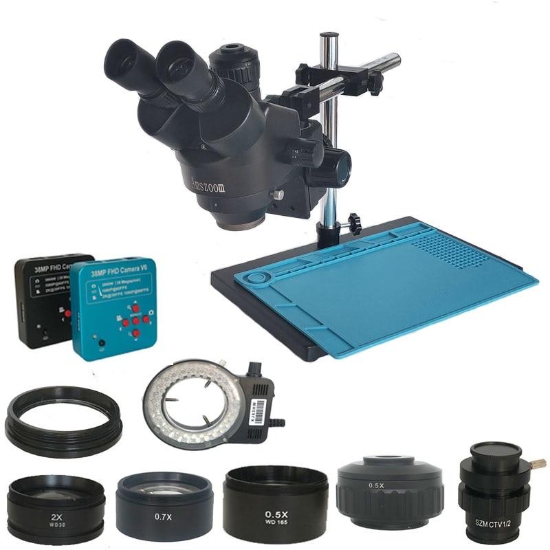Ultimate SaleStereo Microscope Jewelry-Repair-Kit Trinocular Simul-Focal Digital Soldering Hdmi 34MP