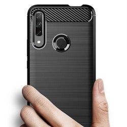 На Алиэкспресс купить чехол для смартфона for huawei honor 9x fingerprint version carbon fiber cover case bumper case full protection shockproof bumper for 9c 9x premium