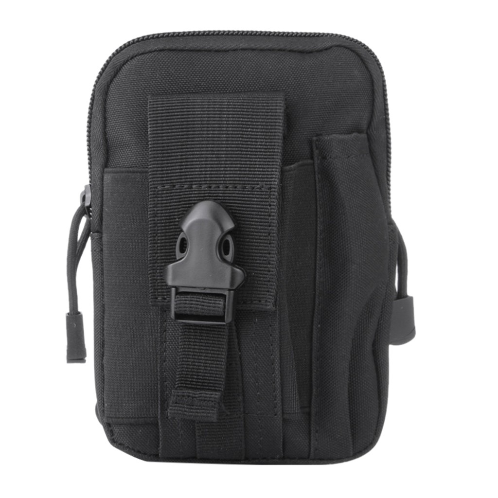 Multi-Purpose Tool Holder With Cell Phone Holster For Sports Hiking Camping Belt Bag Geometric Waist Packs Chest Phone Pouch #R5