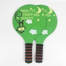 3 вида цветов, забавная Песочная доска, Пляжный Крикет, летучая мышь, детская развлекательная ракетка для крикета, противоскользящая, ручная, твердая деревянная ракетка 1