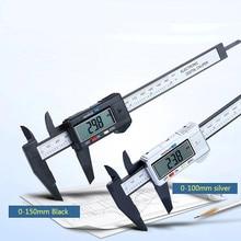 Digital Vernier Calipers 6 inch Electronic Vernier Caliper 100mm Calliper Micrometer Digital Ruler Measuring Tool 150mm 0.1mm