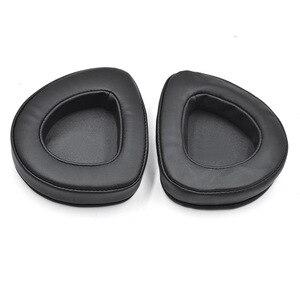 Wymiana słuchawek Earpads dla Asus ROG Delta Aura Sync wysokiej jakości miękkie nauszniki obicia na poduszki dla Asus ROG Delta Aura Sync