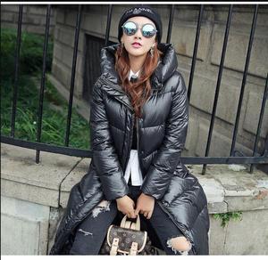 Image 3 - 2019new Slim était בשר טחון femmes נואר à capuche doudoune גרוס mètres épais manteau