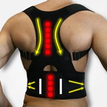 Adjustable Magnets Back Support Posture Corrector Women Men'