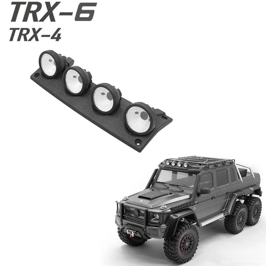 RC Roof LED Light Bar for 1//10 Traxxas TRX-4 TRX6 Axial Scx10 ll Front Bumper