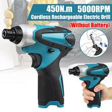 Drillpro Electric Cordless Screwdriver Variable Speed Household Cordless Electric Drill