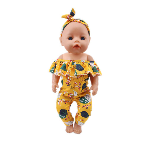 Yellow Series Accessories Shoes  (100% Positive Store)  Suitable 18-Inch And 43cm Dolls, Generation , Gift This is dropshipping Lahore