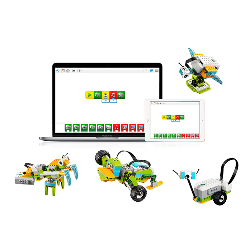NEW WeDo 3.0 Robotics Construction Set Building Blocks Compatible With Legoes Wedo 2.0 Educational 45300 DIY Toys