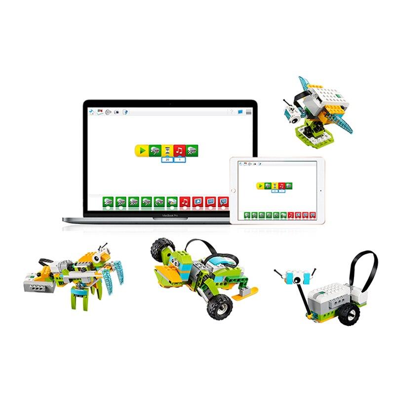 NEW WeDo3.0 Robotics Construction Set Building Blocks Compatible With Legoes Wedo2.0 Educational 45300 DIY Toys