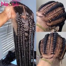 Парики из человеческих волос на полной сетке, предварительно выщипанные отбеленные парики из узлов, 26 дюймов, 150% бразильские парики из прям...