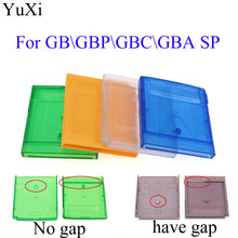 YuXi-carcasa de reemplazo de carcasa para GBA SP, carcasa de cartucho de juego para GB GBC