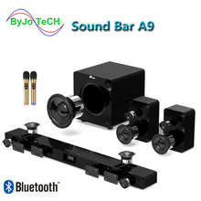 Jy audio a9 bluetooth Саундбар 51 объемный звук домашний кинотеатр