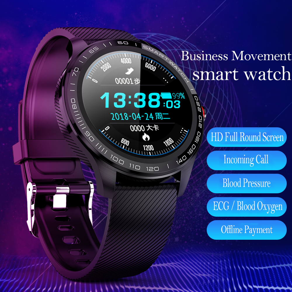Timewolf EKG Smart Uhr Bluetooth Kamera Herz Rate Fitness Smartwatch Frauen <font><b>IP68</b></font> Wasserdichte Smart Uhr für Android-Handy image