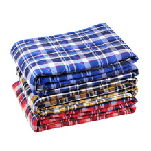 Blue 90*150cm Waterproof  Diaper Nappy Urine Mat  Simple Bedding Changing Cover Pad Sheet Protector