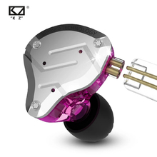 سماعات معدنية KZ ZS10 Pro سماعة رأس 4BA + 1DD هايبرد 10 وحدات هاي فاي باس سماعات داخل الأذن سماعات رياضية مزودة بخاصية إلغاء الضوضاء