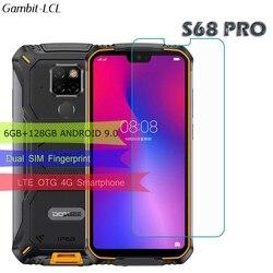 На Алиэкспресс купить стекло для смартфона tempered glass for doogee s68 pro screen protector 9h on doogee s68pro 5.9дюйм. glass film protective phone cover