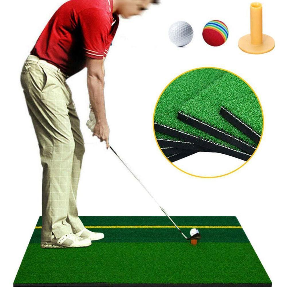 Heavy Duty Golf Driving Chipping Hitting Mat Home Practice Golf X Pad S1U3 30cm Mat 60 N6G0