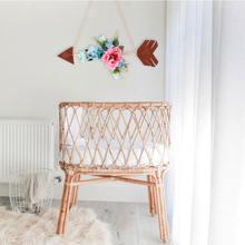 Украшение для комнаты девочек декоративный цветочный крючок