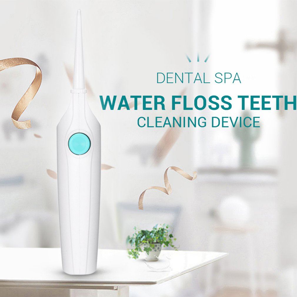 Cordless Water Flosser Portable Dental Cleaner/Dental Water Washer/Oral Flush/Deep Cleansing Teeth For Teeth Whitening