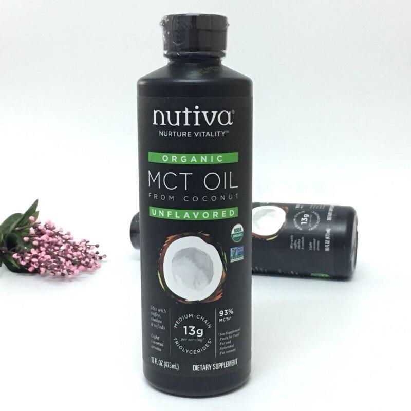 Medium chain triglyceride <font><b>oil</b></font> Nutiva Org