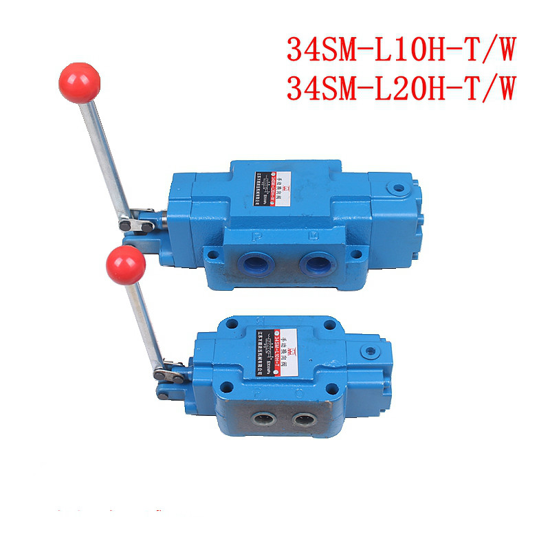Hydraulic Manual Directional Valve 34SM-L10H-T34SM-L20H-T34SM-L10H-W 34SM-L20H-W