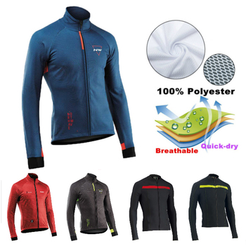 2020 NW Team Long sleeve Cycling Jersey Clothing MTB Bicycle Clothes Maillot Ropa Ciclismo Men Cycling Jersey quick drying xintown men long sleeve cycling jersey set quick dry mtb bike clothing breathable bicycle jerseys clothes maillot ropa ciclismo