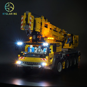 Kyglaring LED light kit Compatible For LEGO 42009 Mobile Crane Mk II Cargo Truck ( the car model not included) image