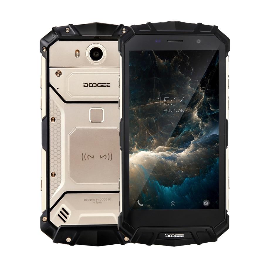 DOOGEE S60 Lite IP68 Água 5580mAh Carga Sem Fio MT6750T 12V2A Quick Charge 5.2 ''FHD Octa Núcleo 4GB 32GB Smartphones 16.0MP Cam