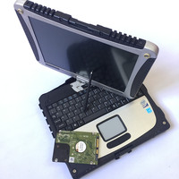 good Performance Toughbook CF 19 CF19 DHL Free Shipping cf 19 CF 19 laptop can work for alldata vas5054a sd c4 tool mb star c5