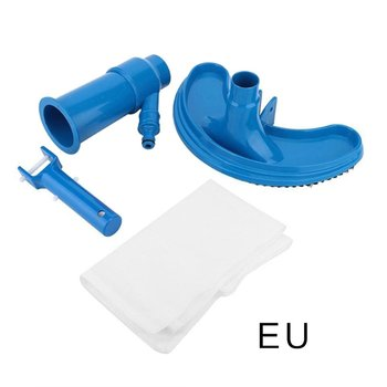 Pool vacuum cleaner cleaning tool suction head basin fountain vacuum cleaner brush hot spring vacuum cleaner 32mm vacuum cleaner brush head home use mixed horse hair oval cleaning brush head vacuum cleaner accessories tool