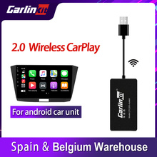 Carlinkit usb ligação inteligente sem fio android carplay dongle para reequipamento android carro multimídia player airplay CPC200-Autokit kit
