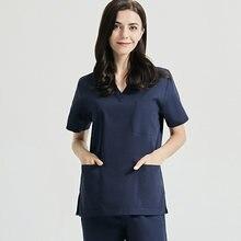 Рабочая одежда для больницы ручной стирки отдельный костюм комбинезон