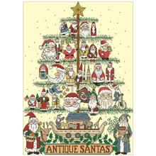 Шаблоны для вышивки крестиком в виде старой рождественской елки