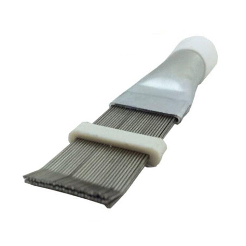 1/2/3pcs Stainless Steel Fin Comb Air Conditioner Fin Cleaner Evaporator Radiator Repair Tool  TN99