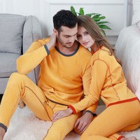 Winter Thermal Underwear Men Women Long Johns Sets Fleece Keep Warm In Cold Weather Thermal Men's Thick Pajamas Shirt and Pants