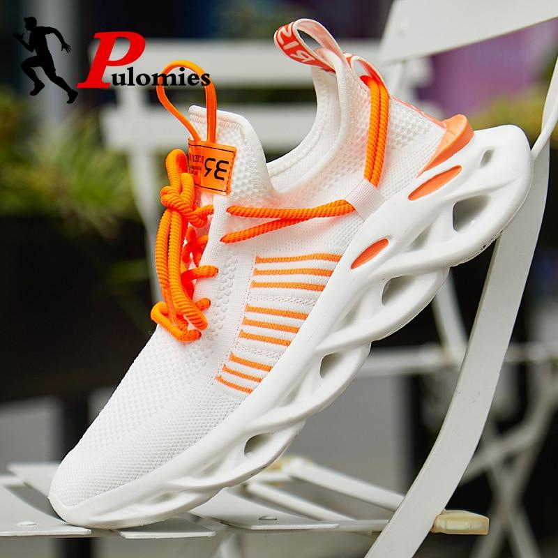 Men Sneakers Men Casual Shoes Breathable Mesh Shoes Men Sport Shoes Platform Sneakers Men Runnning Shoes Couple Shoes 48 Size