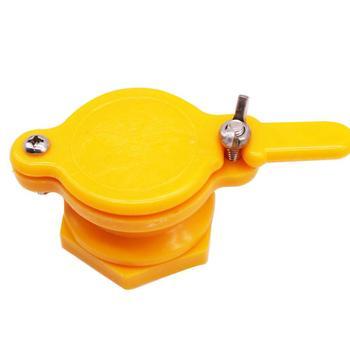Pszczelarstwo zdrowie miód wylot bramy nadające się do 45mm miód wyciskarka ula zbioru miód Tap narzędzia pszczelarz tanie i dobre opinie SenNan CN (pochodzenie) W128 Yellow Honey Flow Outlet Beekeeping Honey Tank Gate Honey Gate