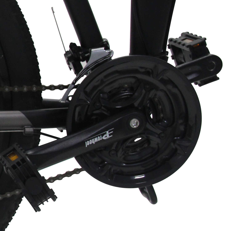 Bicicleta eléctrica de montaña de 36V, 500W, 26 pulgadas, bicicleta plegable de aluminio, batería de litio de 10Ah, potente bicicleta eléctrica MTB
