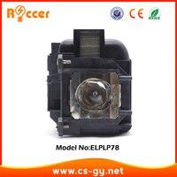 ROCCER Hohe Qualität Projektor Lampe Modul V13H010L78/ ELPLP78 Für EPSON ELPLP-78 Lampada