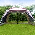 Alltel 5-8 человек Ulterlarge 365*365*210 см Высокое качество большая беседка солнцезащитный тент Кемпинг палатка Carpas De Кемпинг Пляжная палатка