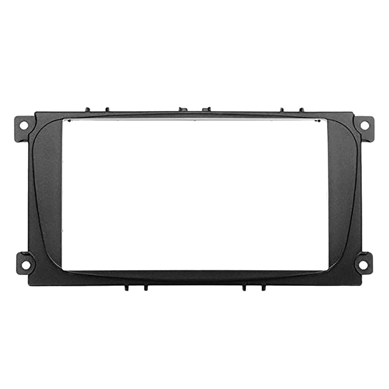 Double Din CD CAR Stereo Fascia Surround Kit For FORD Fiesta Fusion Focus