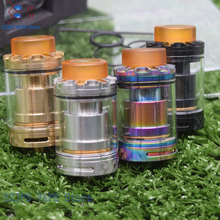 sub two V2 RTA Single & Dual coil Tank Atomizer 24mm 3ml Top Fill System for 510 Thread Vape Vs goon 25 v1.5 Apocalypse GEN 25 original geekvape ammit dual coil rta tank 3ml 6ml atomizer support both dual and single coil