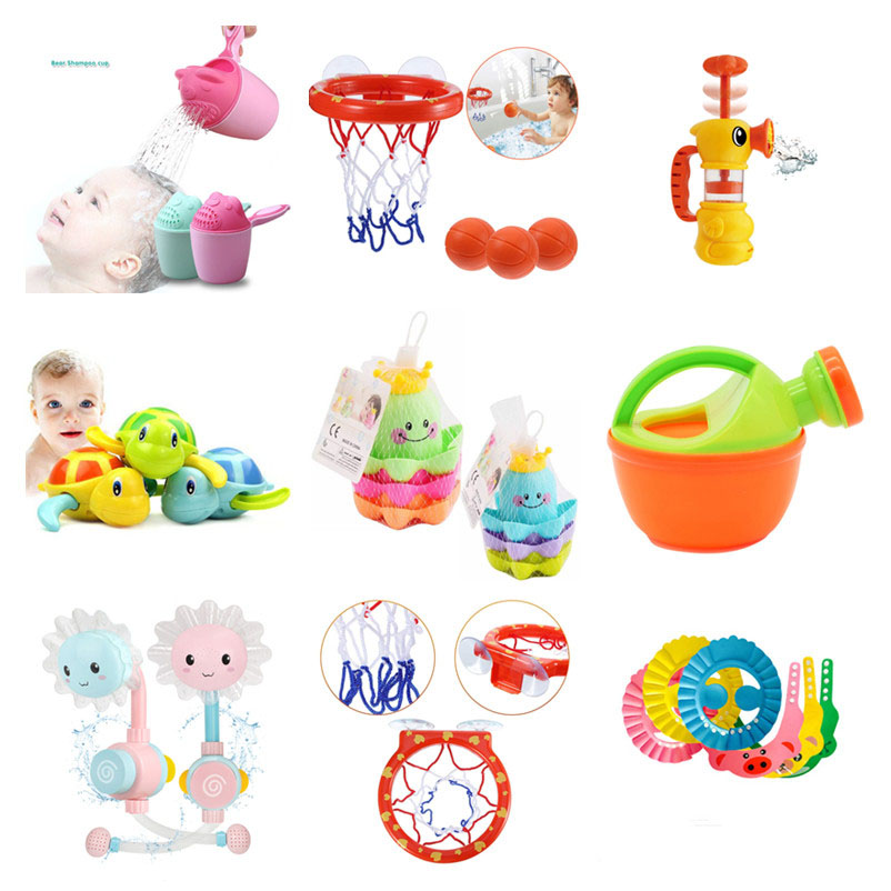 Baby Bath Toys Alphanumeric Letter Puzzle Bath Toys Spraying Water Ship Toy Early Educational Suction Up Bath Toys For Children