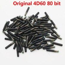 10 pz/lotto Originale 4D60 80Bit Chip 4D ID60 Super 80 Bit Chip di Vetro per Ford Connect Fiesta Messa A Fuoco di Fuga F150 f250 Mondeo Chiave Dellautomobile