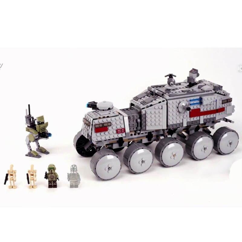 Legoinglys Star Wars 05031 933Pcs Clone Turbo Tank 75151 Building Blocks Bricks 75151 Kids Toys Gifts