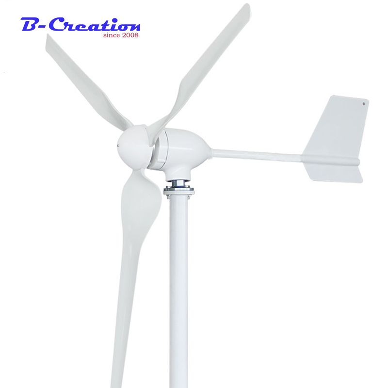800W 12v Wind Turbines Generator+ Wind Controller 12V 24V 48V 3 Blades Horizontal Axis Permanent Magnet Generator for Home Stree